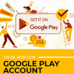 Register a company account on Google Play